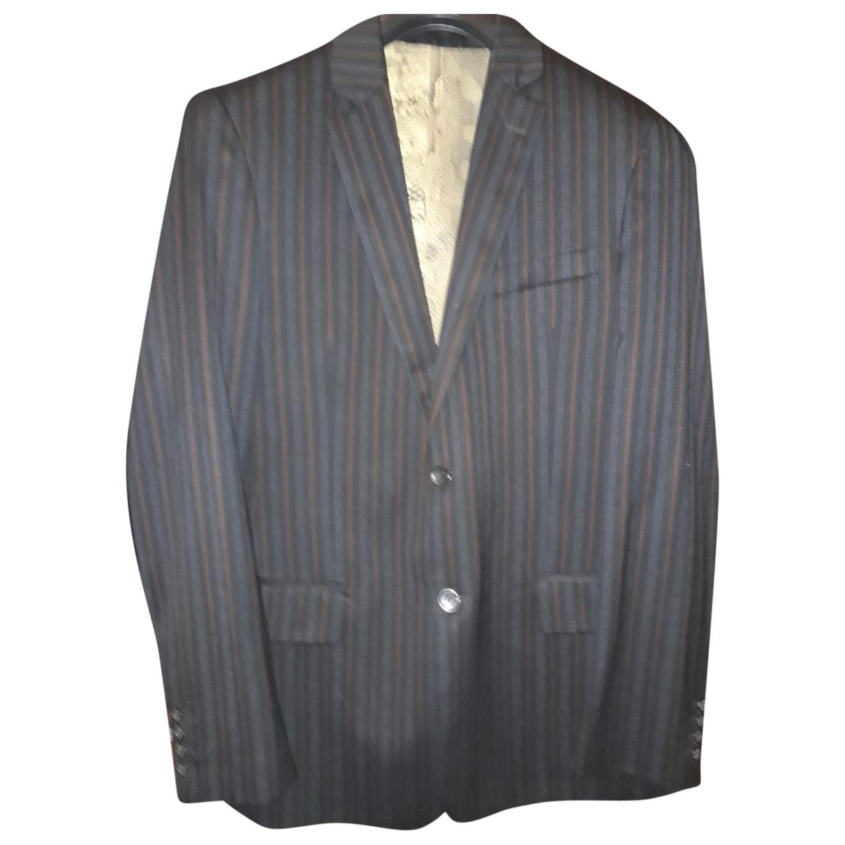 Just Cavalli - Costumes   pour homme en laine - bleu