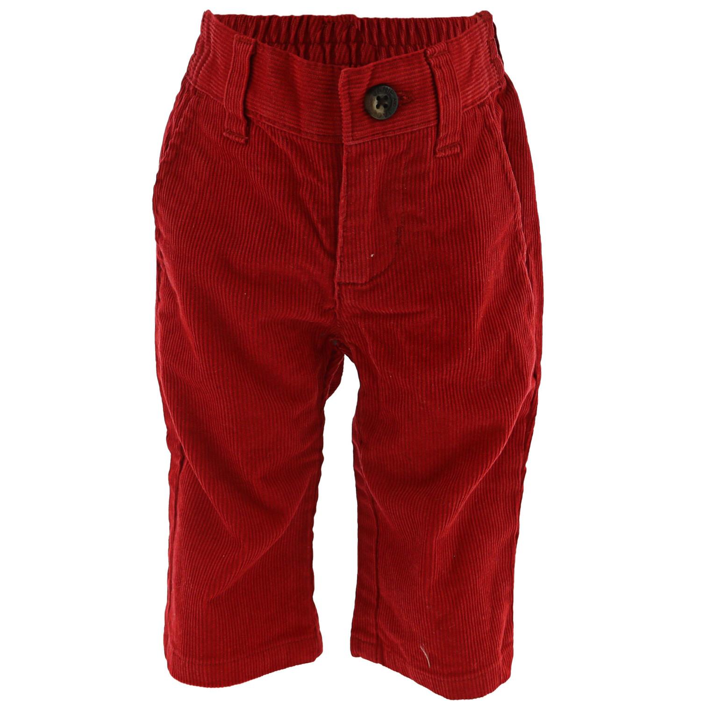 Janie And Jack Corduroy Pant Pants - 3-6 Months - Crimson