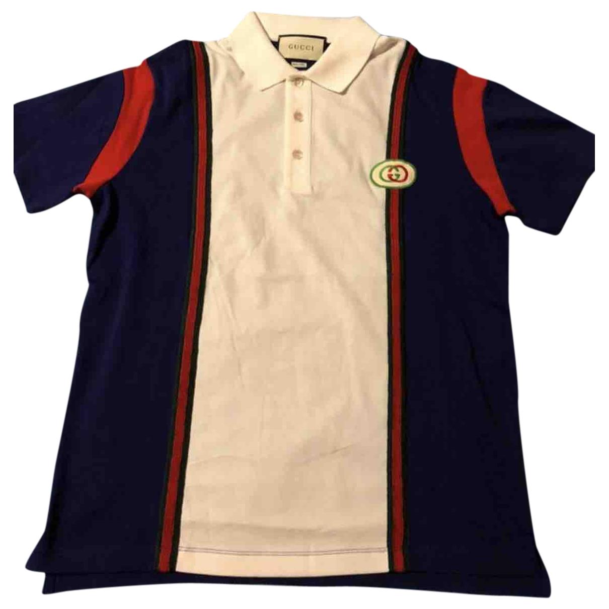 Polo en Algodon Multicolor Gucci