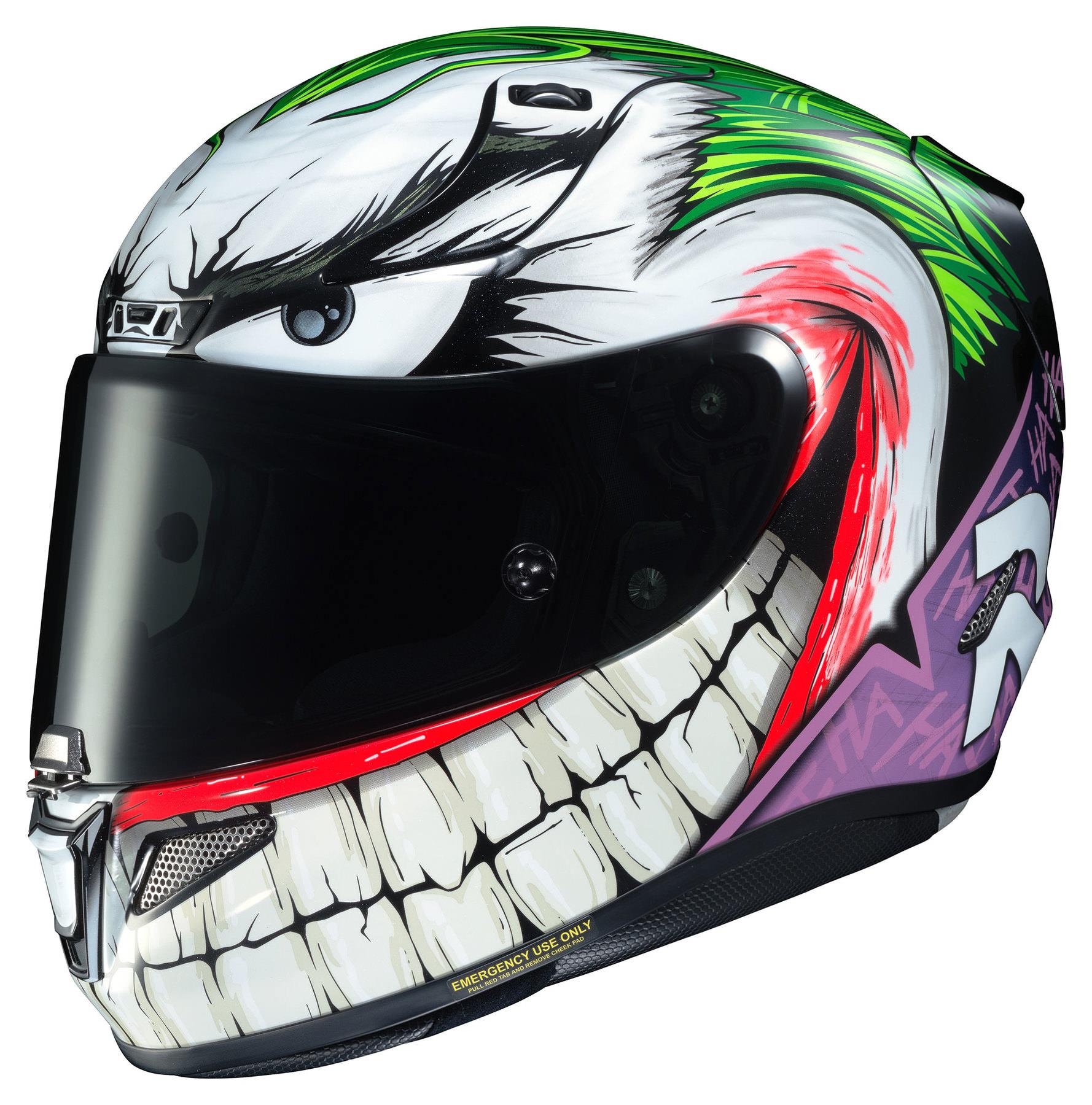 HJC RPHA 11 DC Comics Joker MC48 Full Face Helmet L