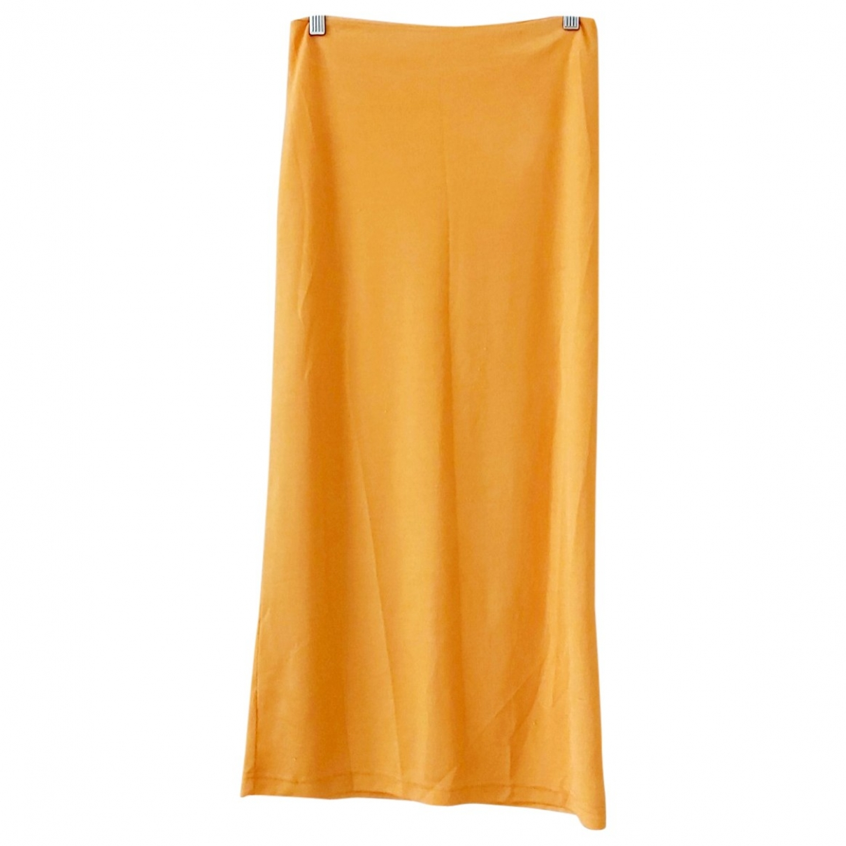 Non Signe / Unsigned \N Rocke in  Orange Polyester
