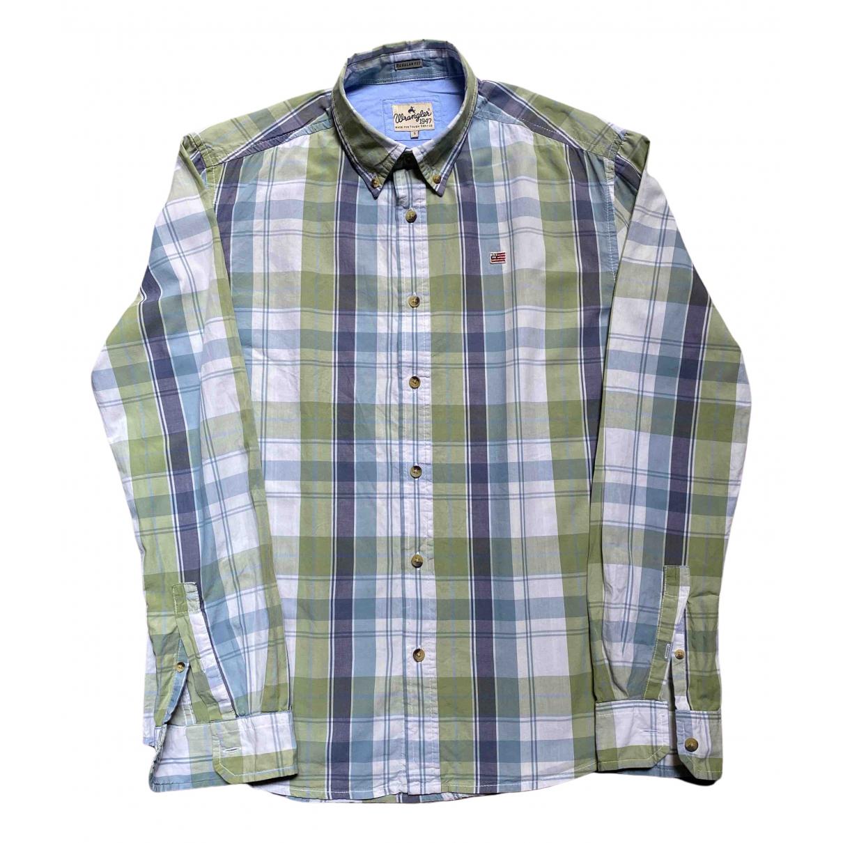 Wrangler - Chemises   pour homme en coton - blanc