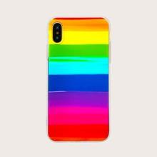 Rainbow Stripe Pattern iPhone Case