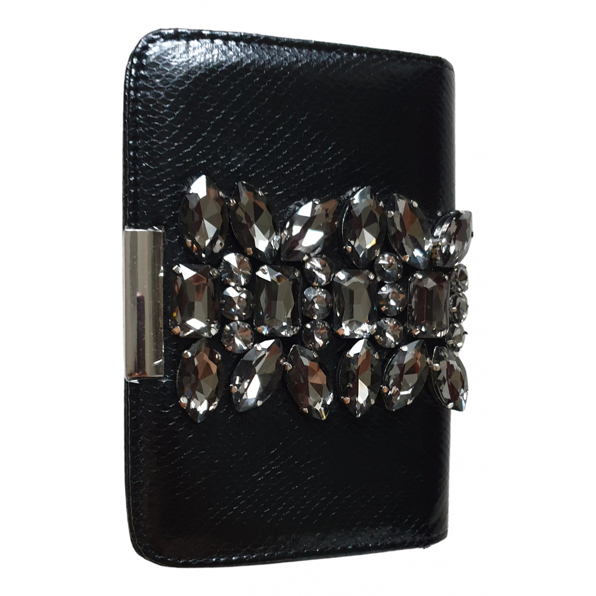 Uterque N Black Exotic leathers Clutch bag for Women N