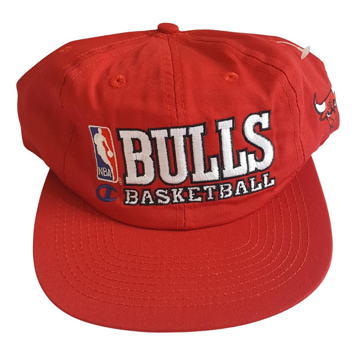 Champion - Chapeau & Bonnets   pour homme en coton - rouge