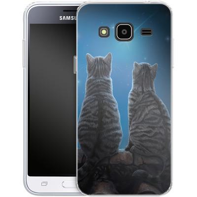 Samsung Galaxy J3 (2016) Silikon Handyhuelle - Wish Upon a Star von Lisa Parker