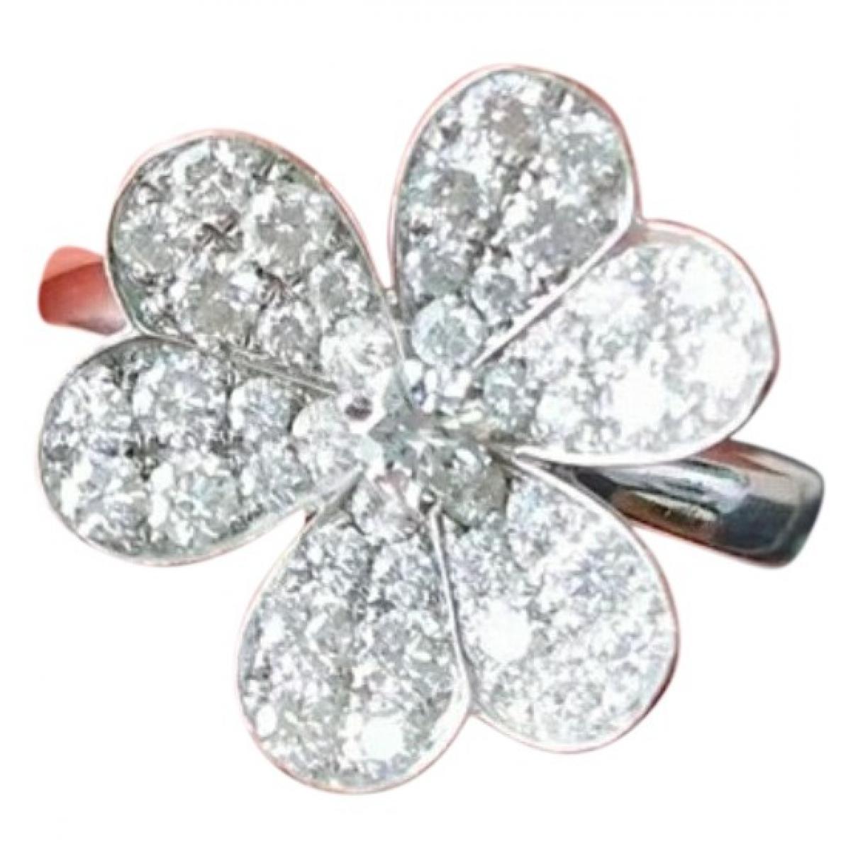 Van Cleef & Arpels - Bague Fleurs pour femme en or blanc