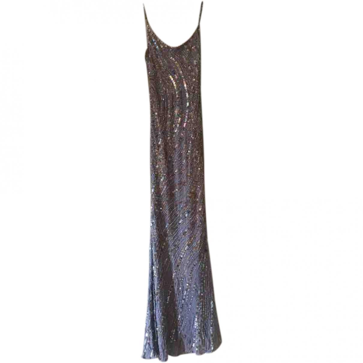 Jenny Packham \N Blue Glitter dress for Women 36 FR