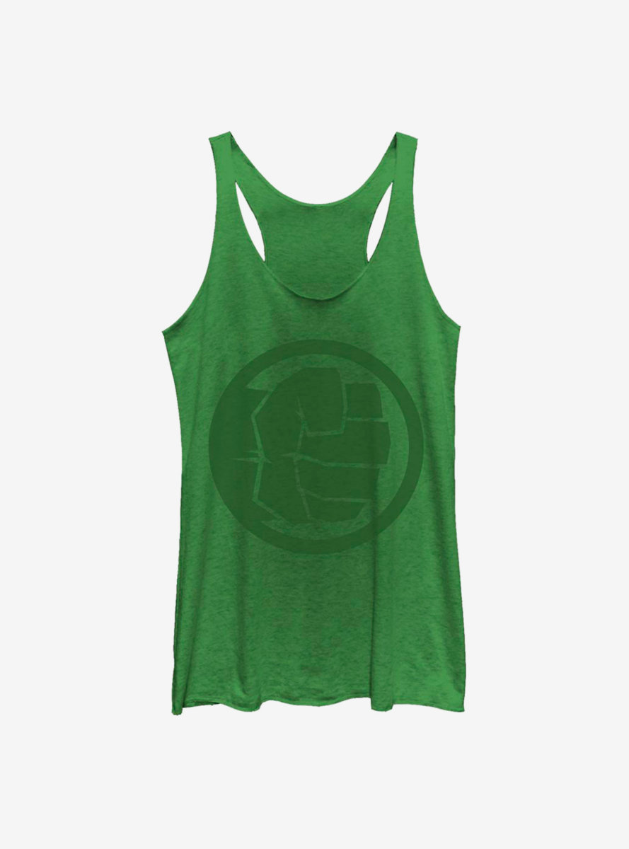 Marvel Hulk Tonal Hulk Womens Tank Top