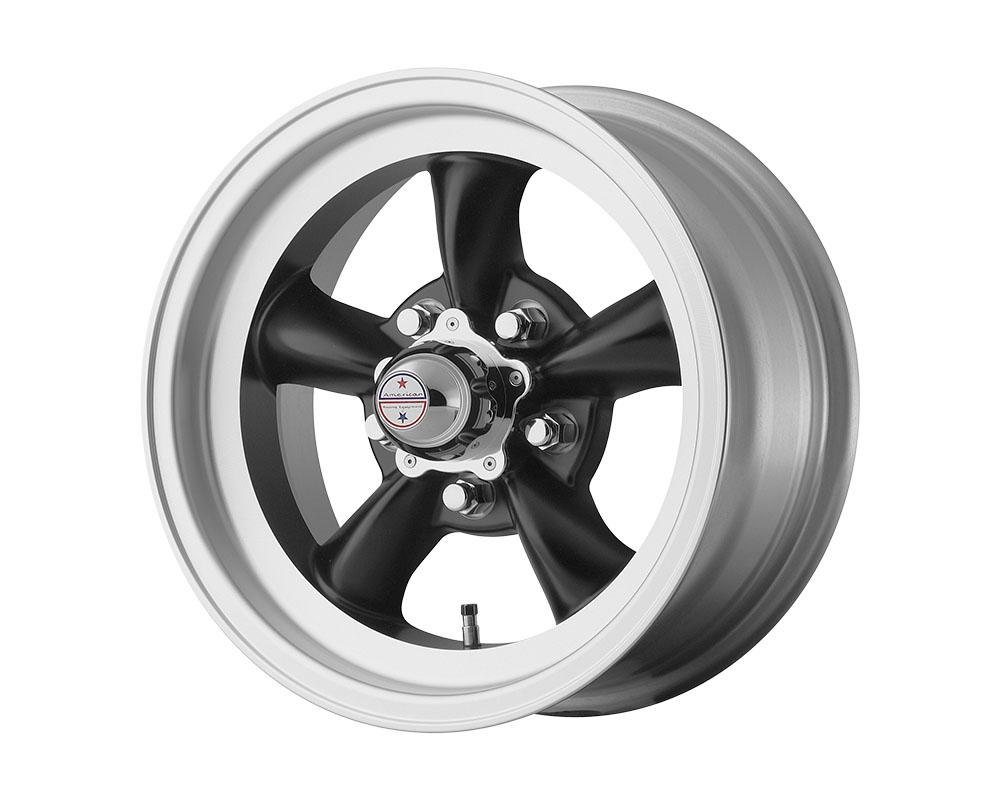 American Racing VN105 Torq Thrust D Wheel 15x8.5 5x5x120.65 -25mm Satin Black Machined Lip