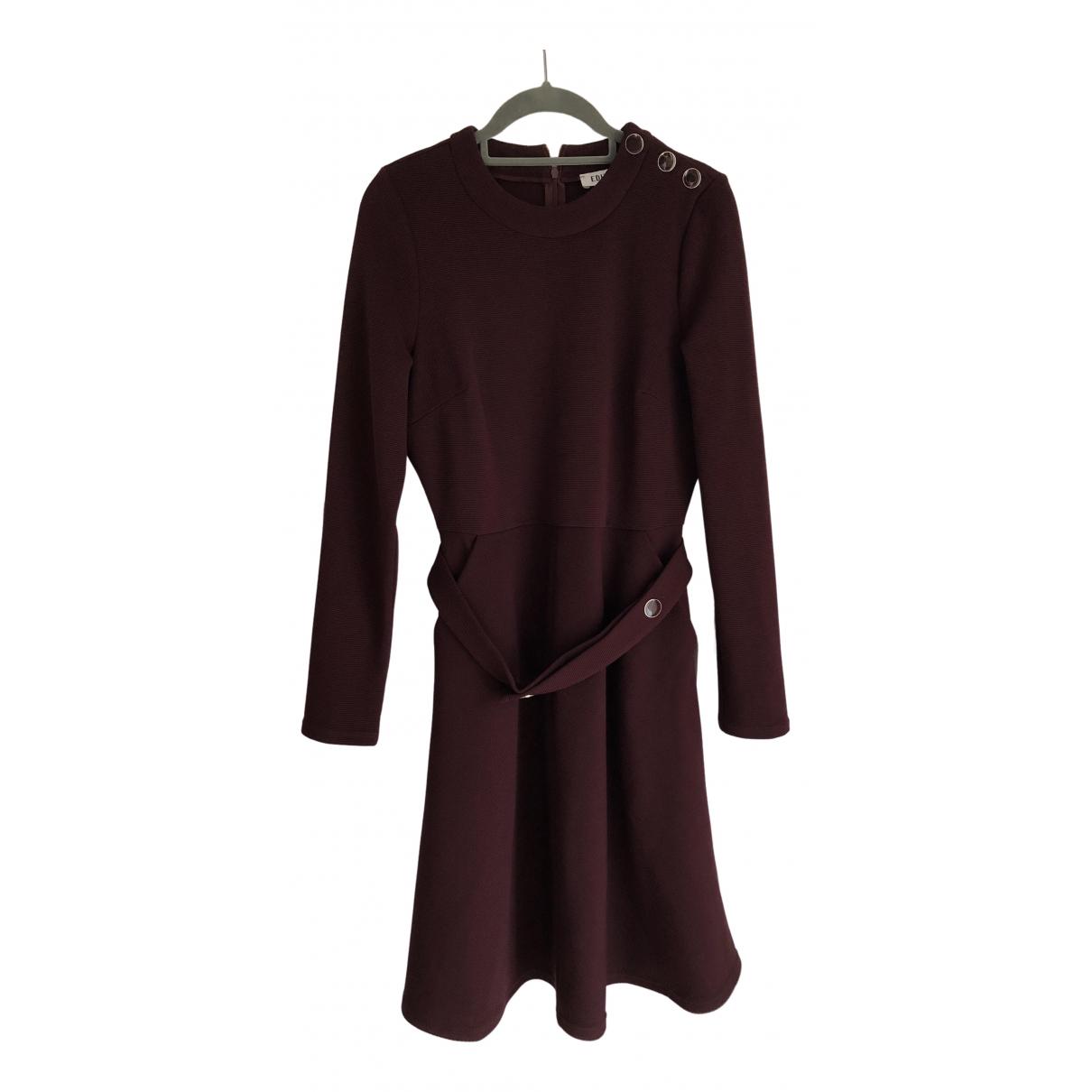 Edited - Robe   pour femme - bordeaux