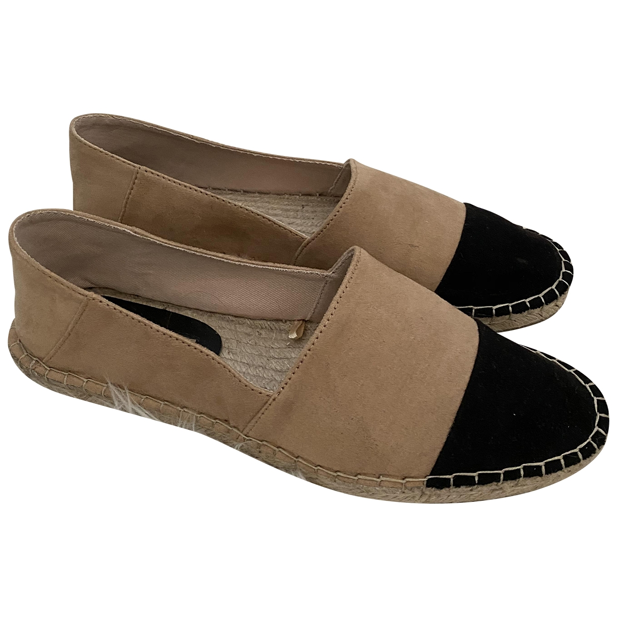 Zara \N Espadrilles in  Beige Synthetik
