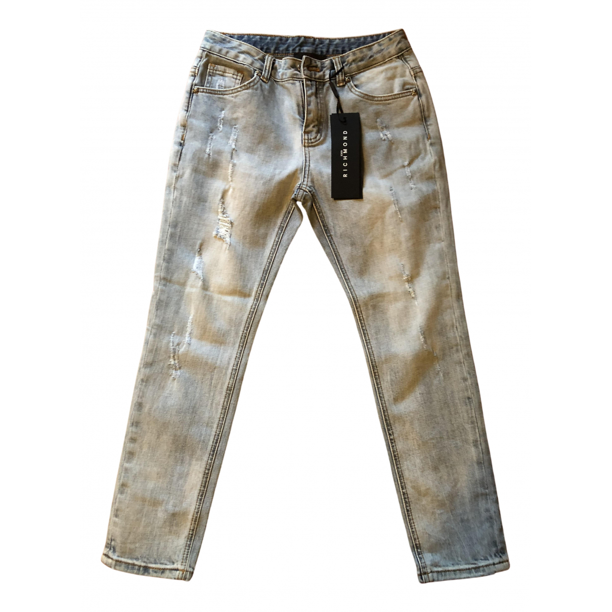 John Richmond \N Denim - Jeans Trousers for Kids 12 years - XS FR