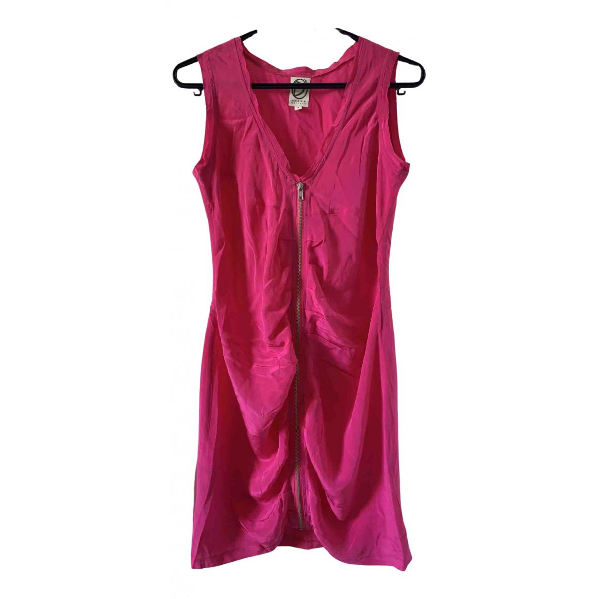Dress Gallery \N Kleid in  Rosa Seide