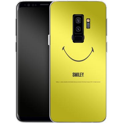 Samsung Galaxy S9 Plus Silikon Handyhuelle - Smiley All Over von Smiley®