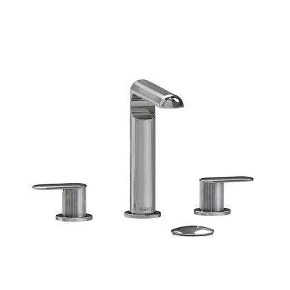 Ciclo CI08LNC 8 Widespread Lavatory Faucet with Lined Textured Handles 1.5 GPM  in
