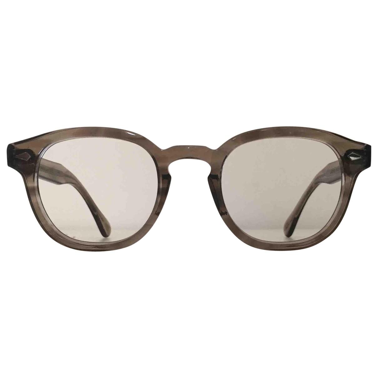 Moscot \N Beige Sunglasses for Men \N