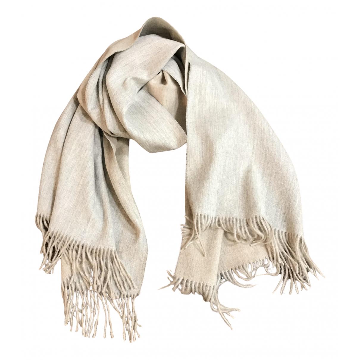 - Foulard   pour femme en cachemire - gris