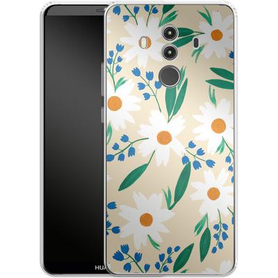 Huawei Mate 10 Pro Silikon Handyhuelle - Daisy Chain von Iisa Monttinen
