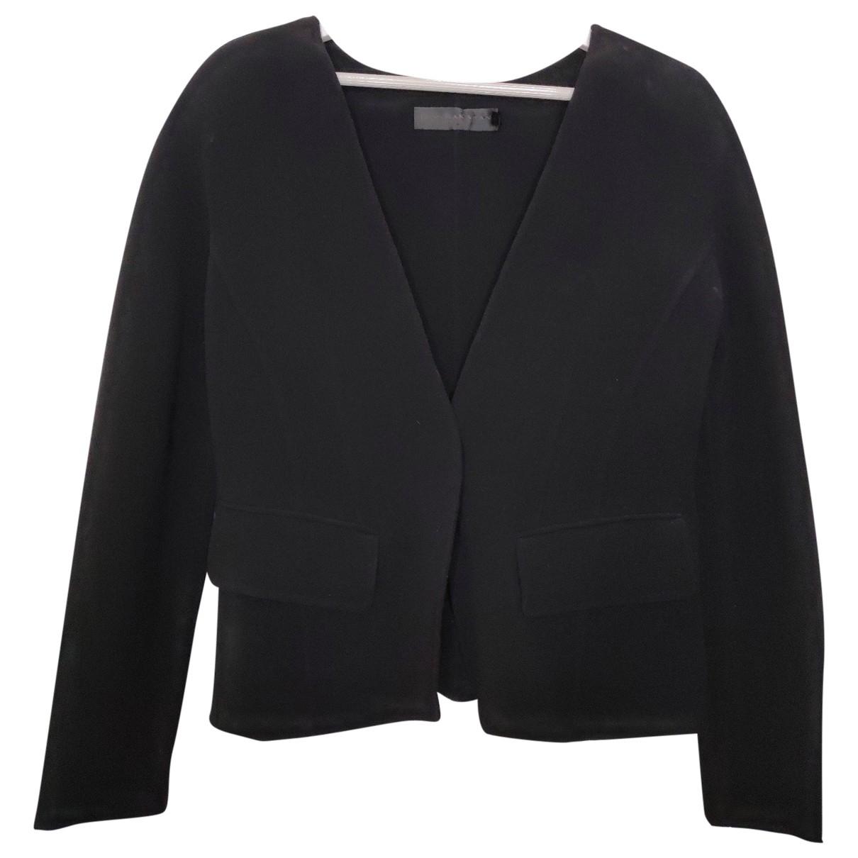 Donna Karan - Veste   pour femme en laine - noir