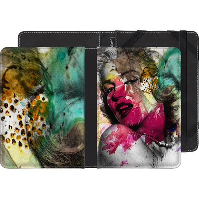 Pocketbook Touch Lux eBook Reader Huelle - Woman Aquarelle von Mark Ashkenazi