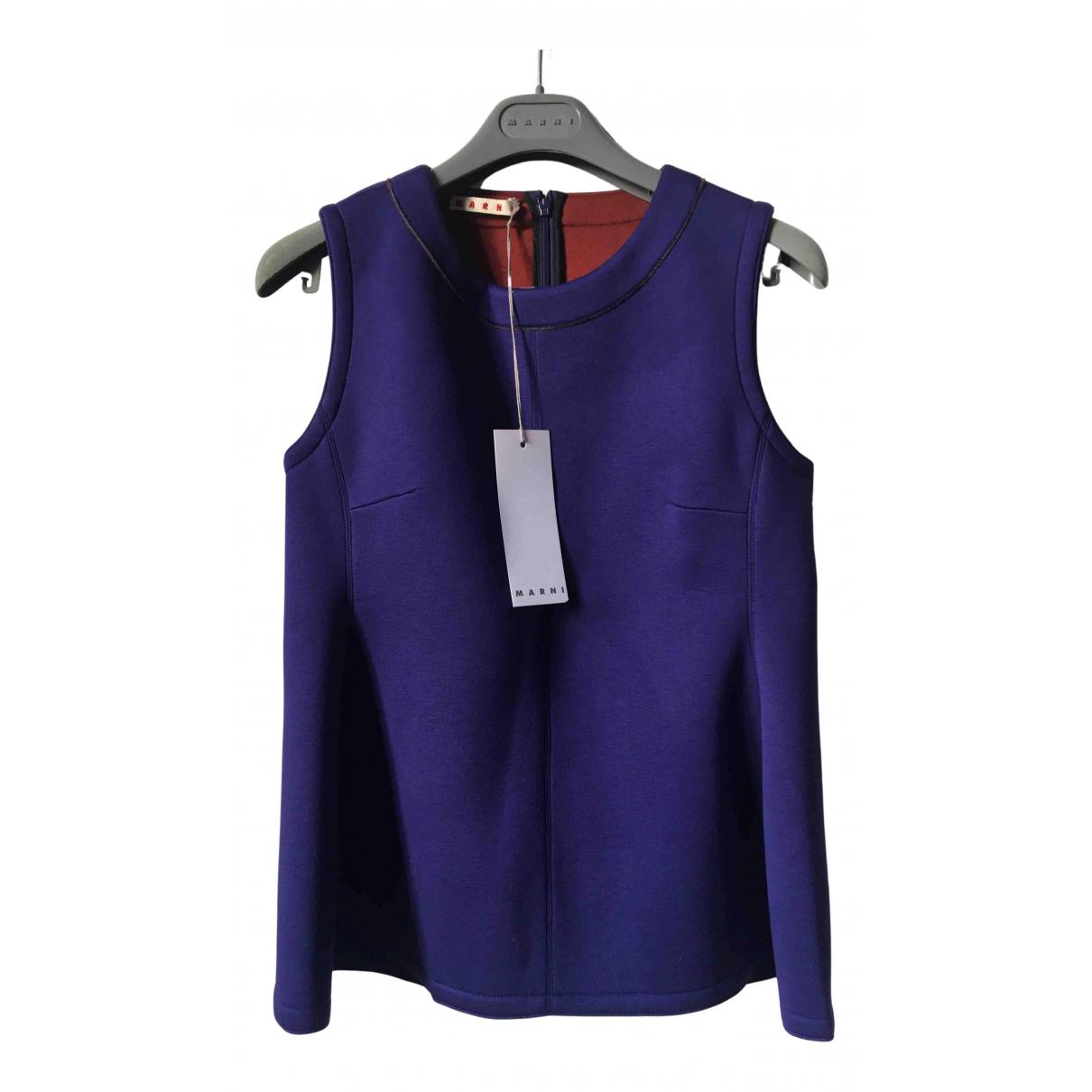 Marni N Purple  top for Women 38 IT