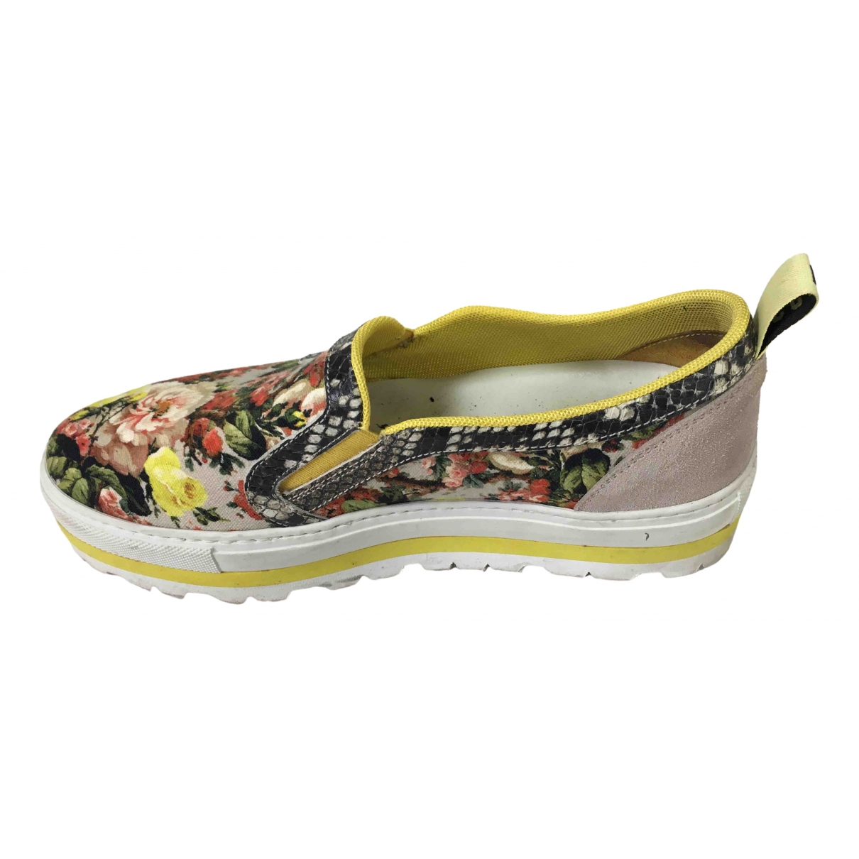 Msgm \N Sneakers in  Bunt Leinen