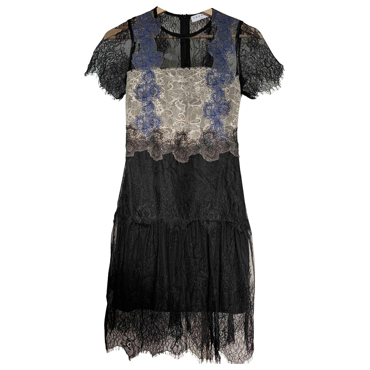 Sandro Spring Summer 2019 Black dress for Women 1 0-5