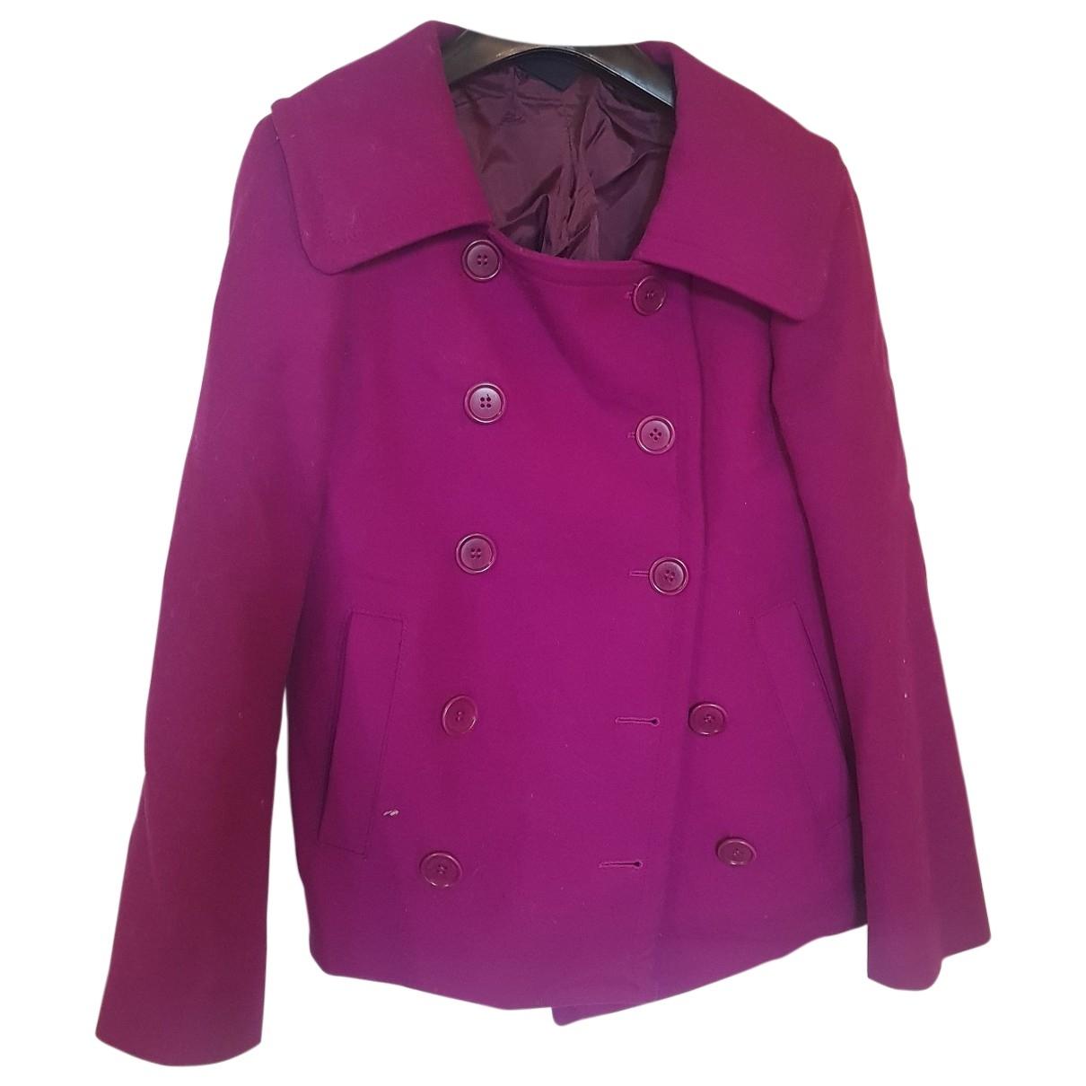 Aspesi - Manteau   pour femme en laine - violet