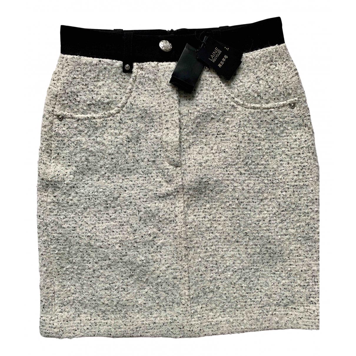 Maje - Jupe   pour femme en laine - beige