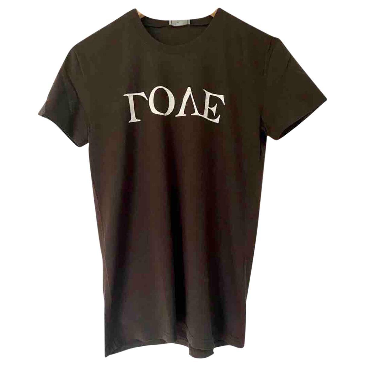Dior Homme \N T-Shirts in  Braun Baumwolle
