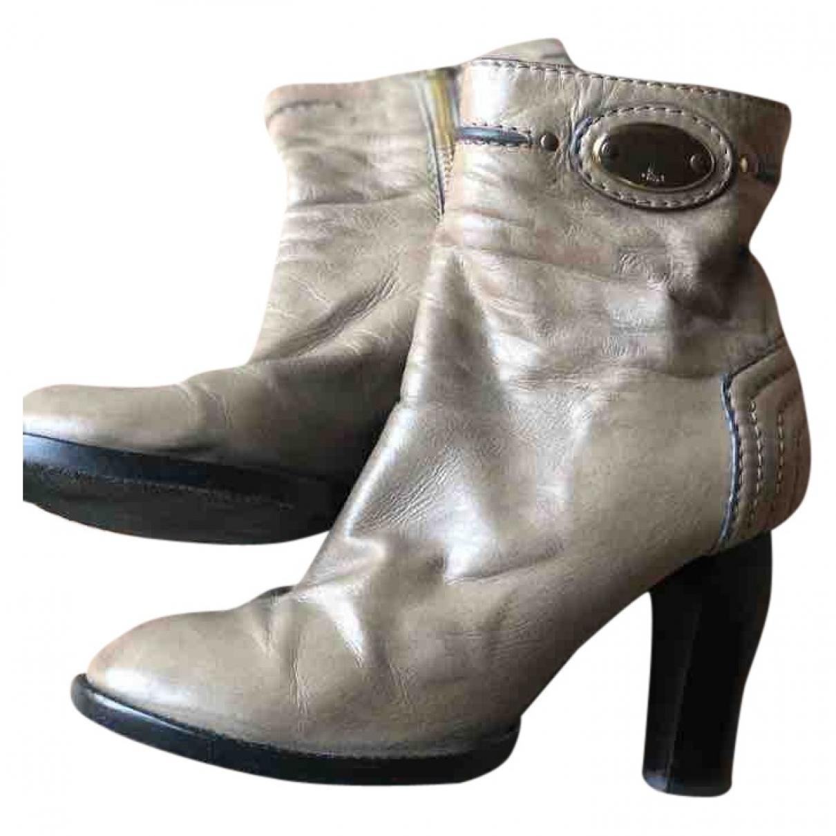 Botas de Cuero Chloe