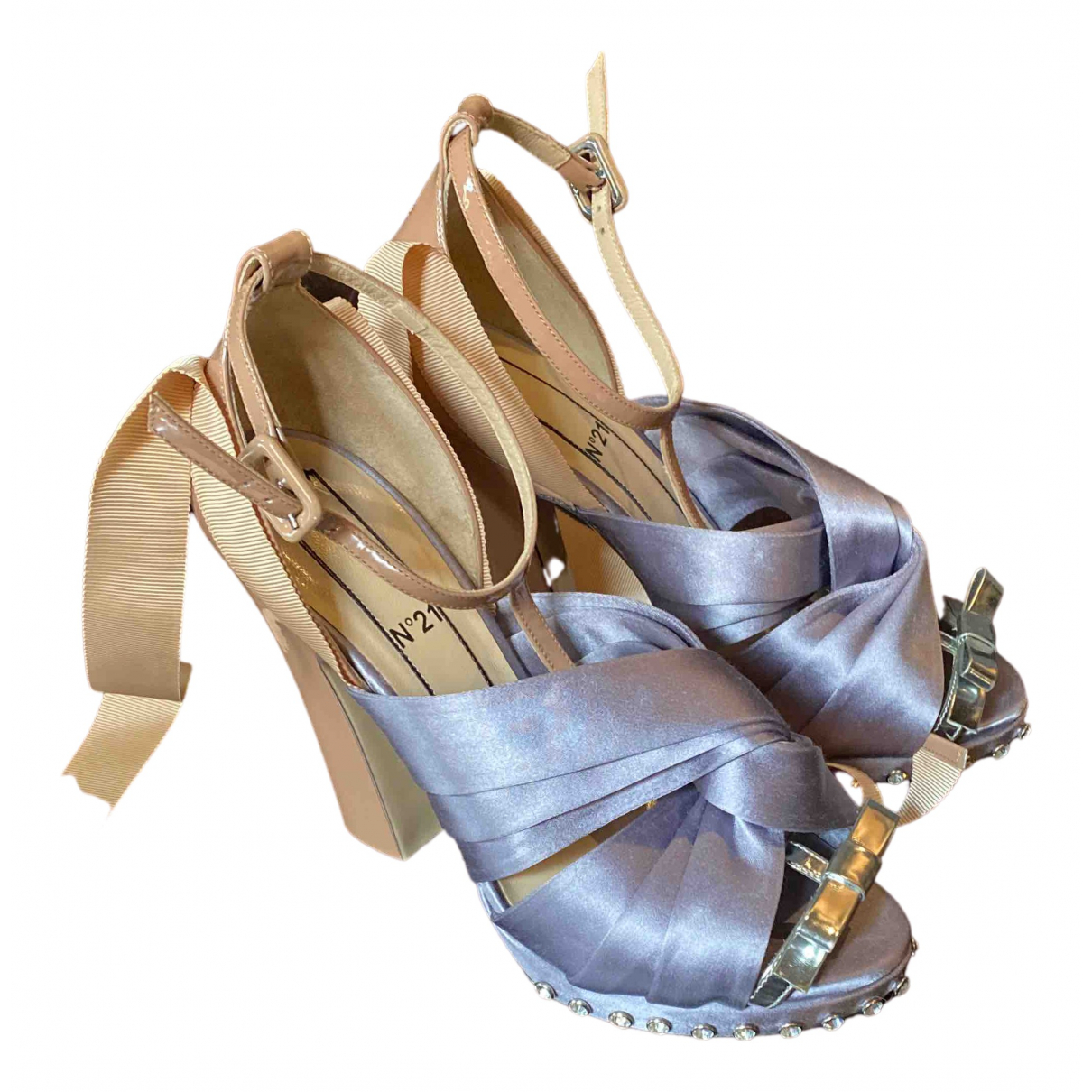 N°21 N Patent leather Sandals for Women 39 EU