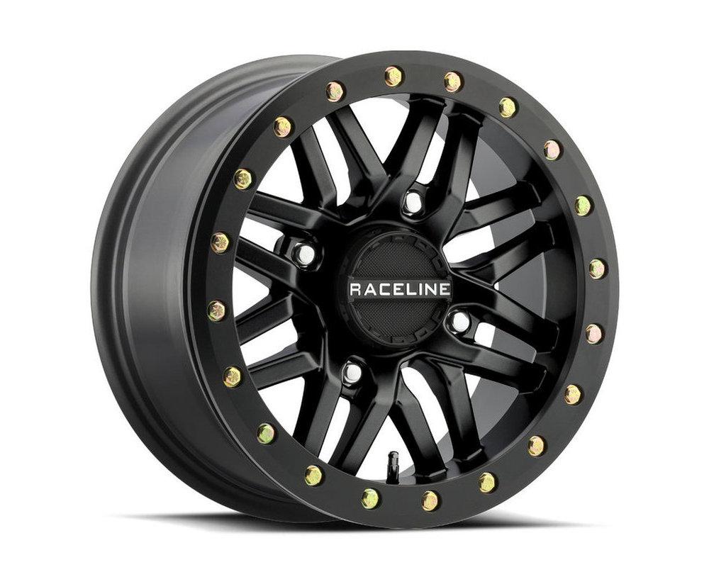 Raceline A91B Ryno Beadlock Satin Black Wheel 15x10 4x137 0mm 5+5