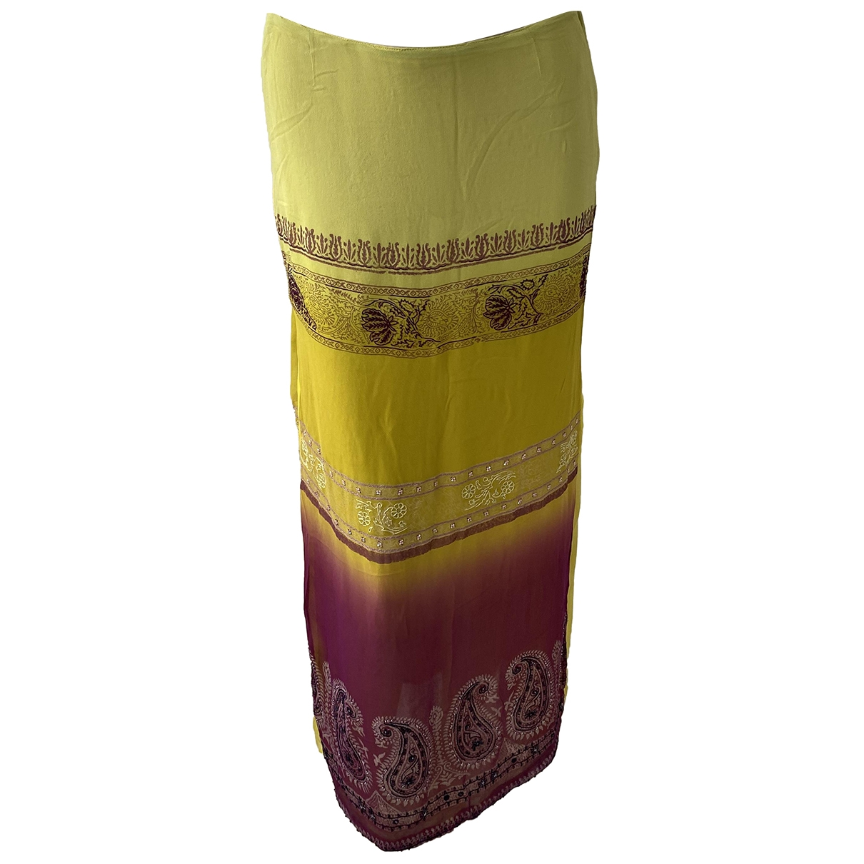 Etro - Jupe   pour femme en soie - multicolore