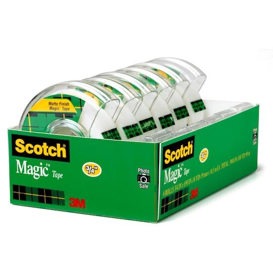 Scotch® Magic™ Tape, ct Of 6 | Michaels®