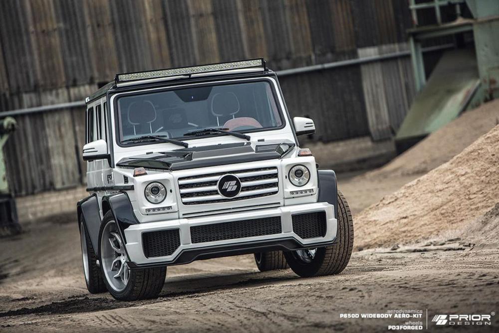 Prior Design 4260609892697 P650D Front Bumper Mercedes-Benz G-Class W463 05-18