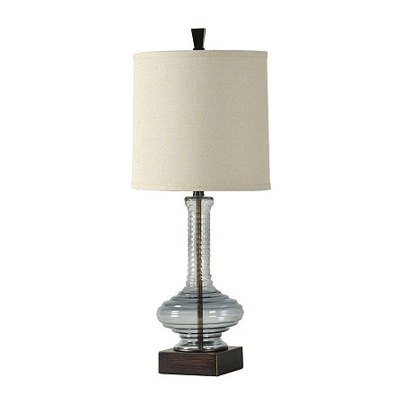 Stylecraft Opaque Plastic Table Lamp, One Size , Blue