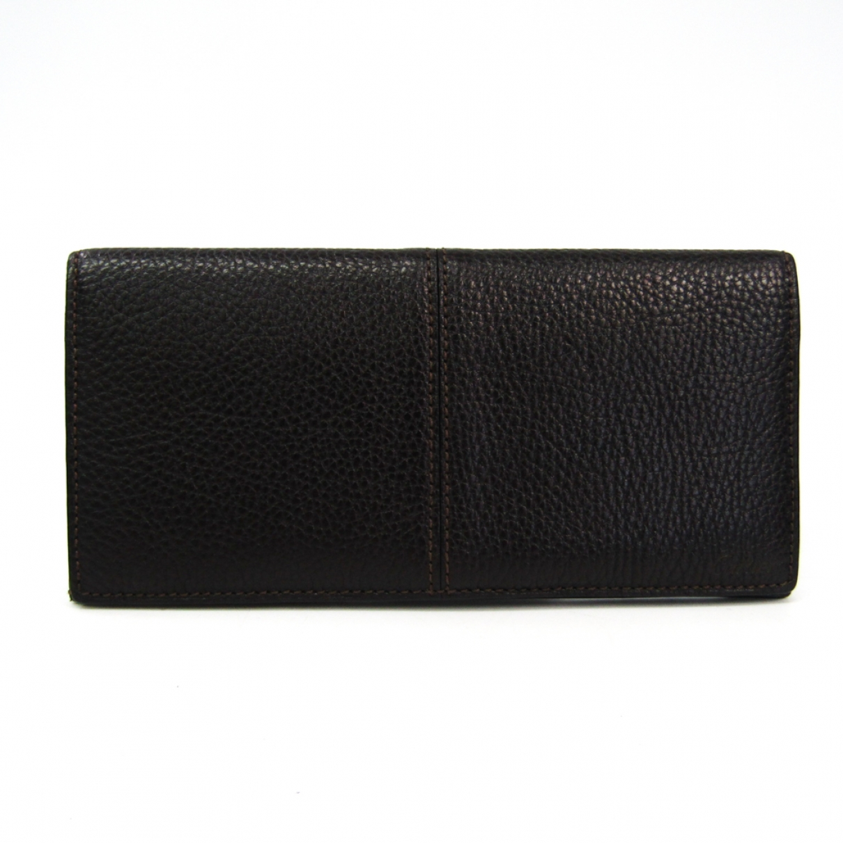 Cartier \N Brown Leather Small bag, wallet & cases for Men \N