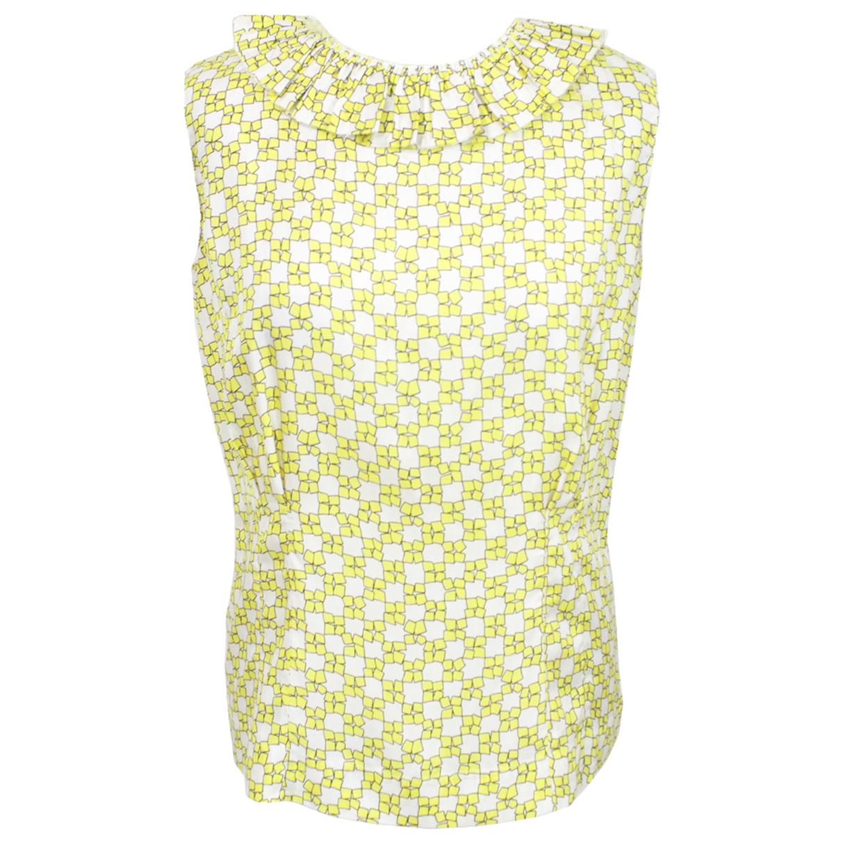 Marni - Top   pour femme - jaune