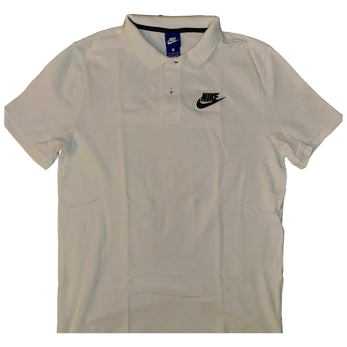 Nike \N Poloshirts in  Weiss Baumwolle