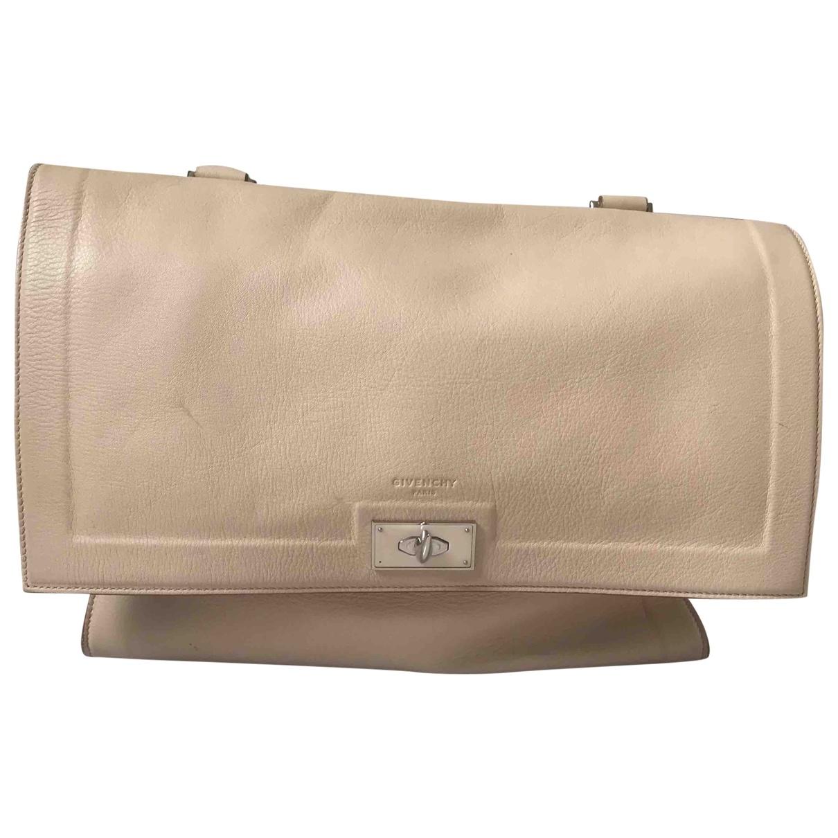 Givenchy Shark Beige Leather handbag for Women \N