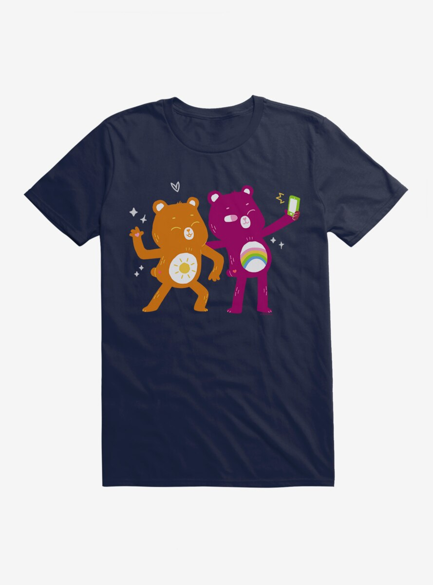 Care Bears Comic Art Funshine And Cheer T-Shirt