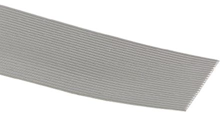 3M 10 Way Unscreened Flat Ribbon Cable, 12.7 mm Width, Series 3355