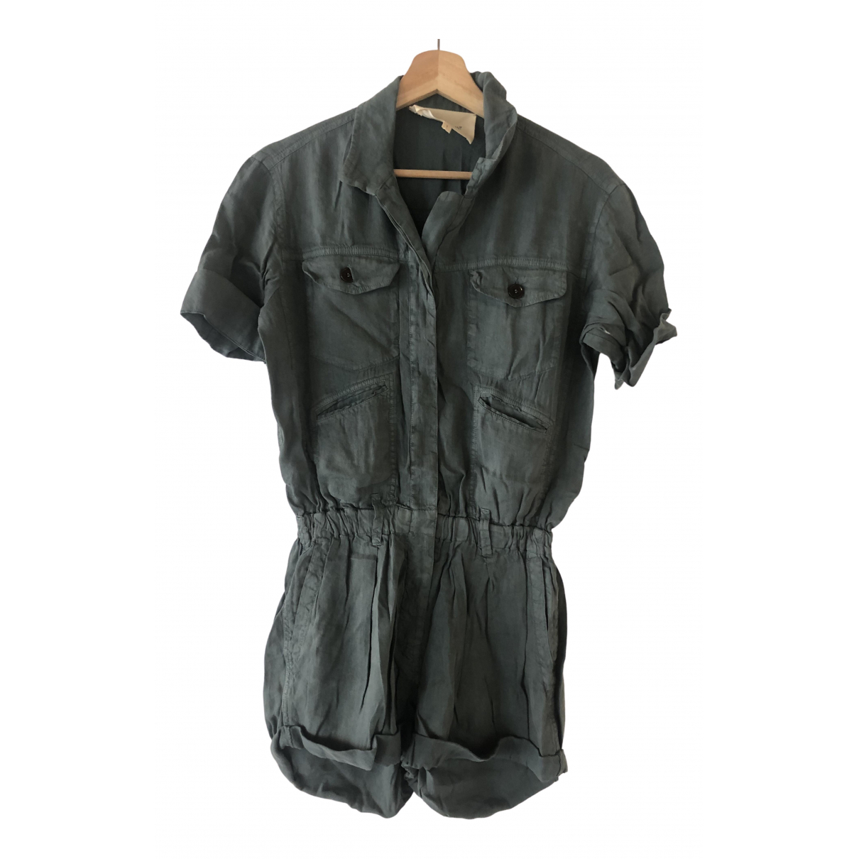 Isabel Marant Etoile \N Green Cotton Shorts for Women 36 FR
