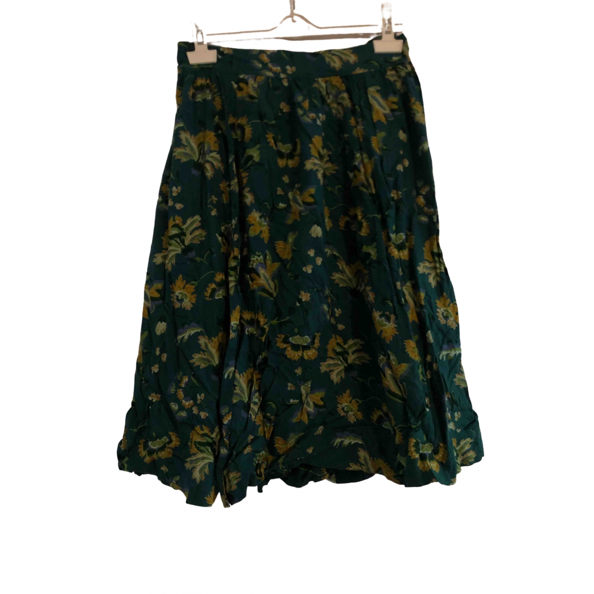- Jupe   pour femme en coton - vert