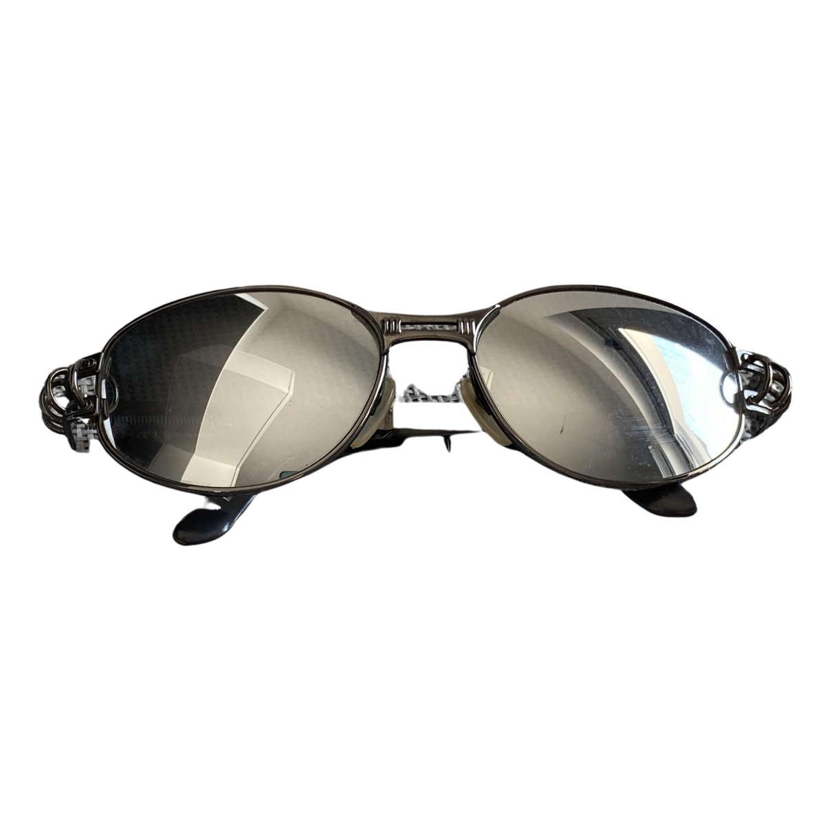 Jean Paul Gaultier N Grey Metal Sunglasses for Men N