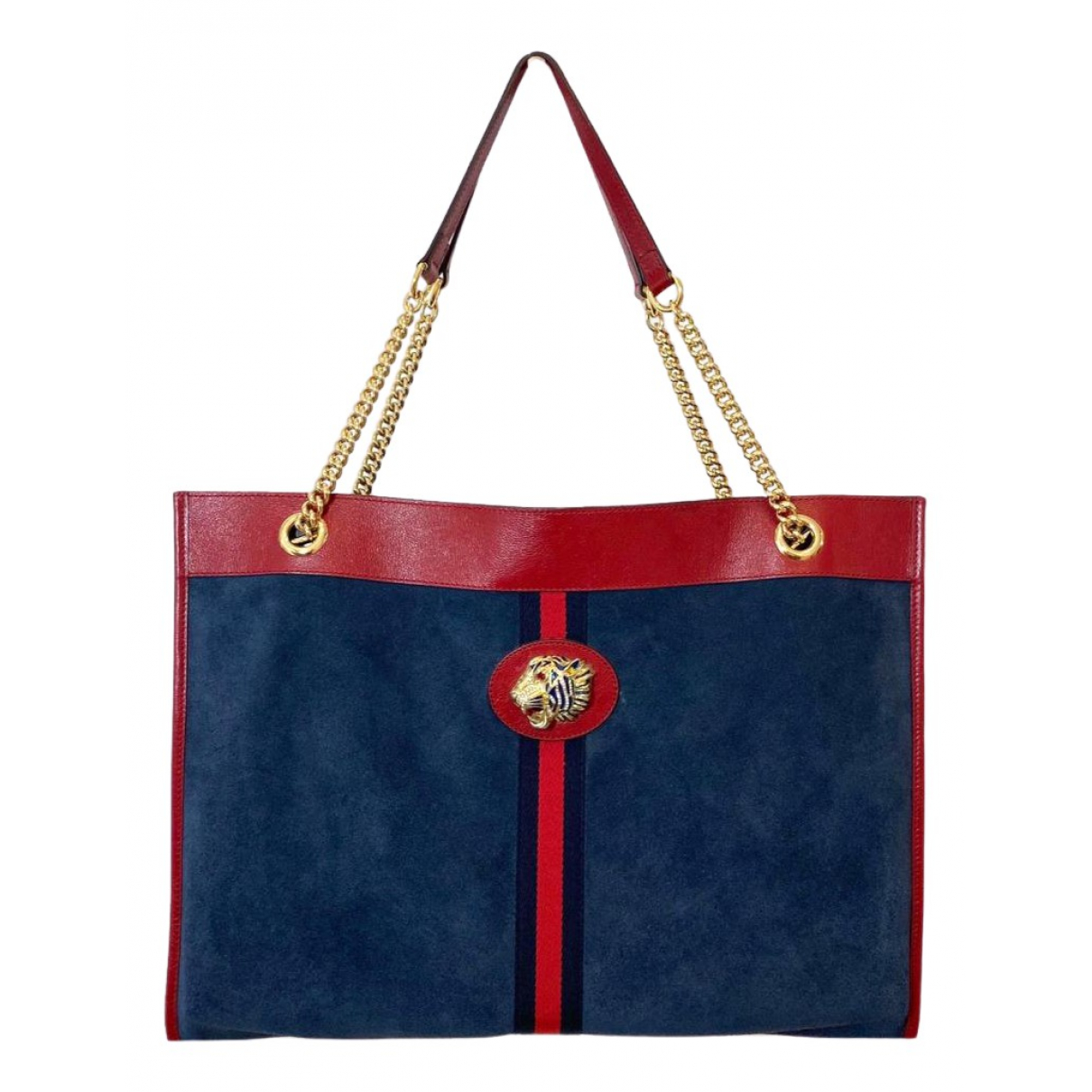 Gucci Rajah Blue Suede handbag for Women \N