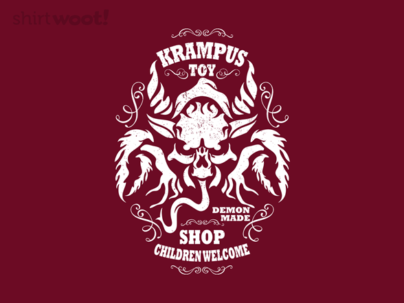 Krampus Toy Shop T Shirt