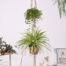 1 pieza colgador de planta a doble capas